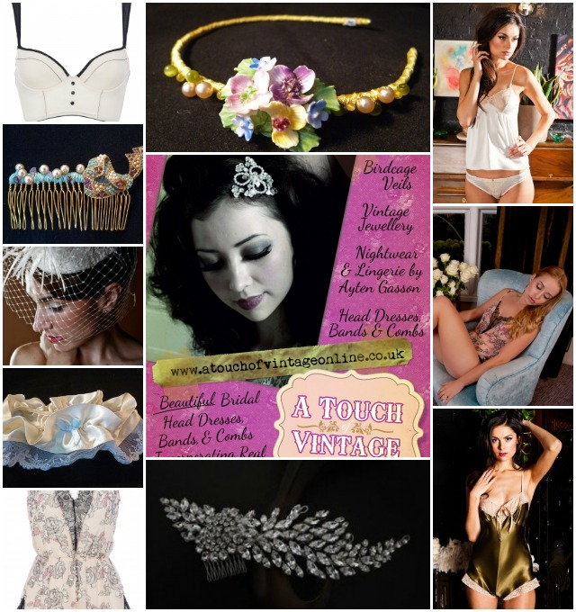 Want That Wedding Vendor: A Touch Of Vintage | Vintage Inspired Wedding Accessories