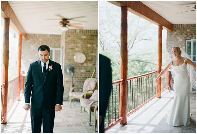 Laid Back Rustic: Pretty Pops Of Pink | Real Wedding