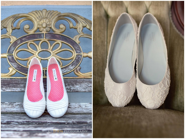 The Perfect Flat Wedding Shoes?