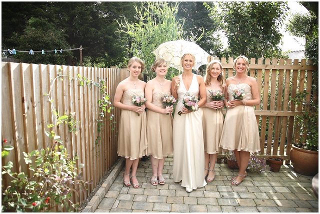 Glam Vintage: Garden Party | Real Wedding