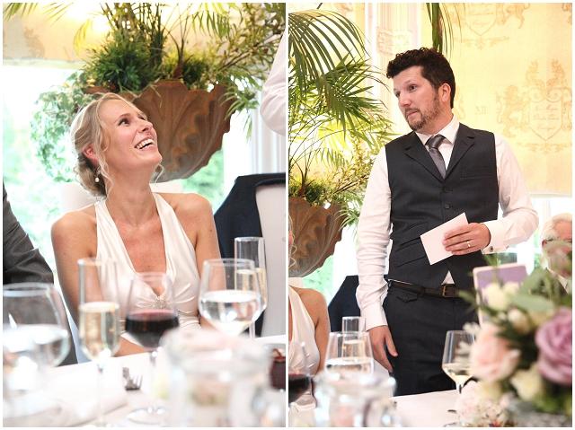 Glam Garden Party: Real Wedding