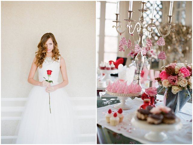 Red, Pink + White: Valentine | Wedding Inspiration