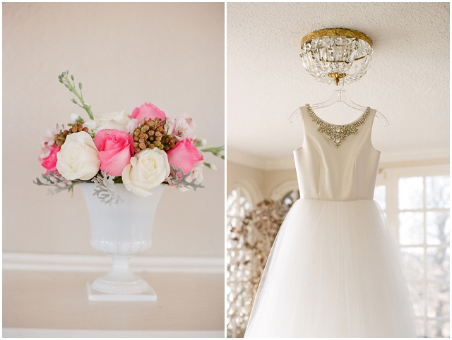 Red, Pink + White: Valentine Bridal Style