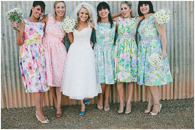 Cute and Cool, Alternative Bridesmaid Dresses: Sohomode