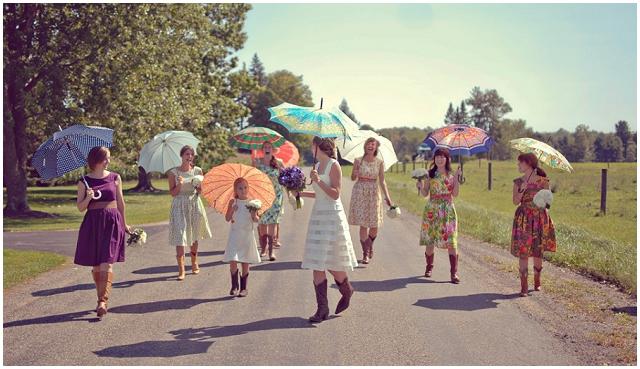 Cute & Cool Bridesmaid Dresses: Sohomode