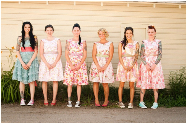 Cool Bridesmaid Dresses