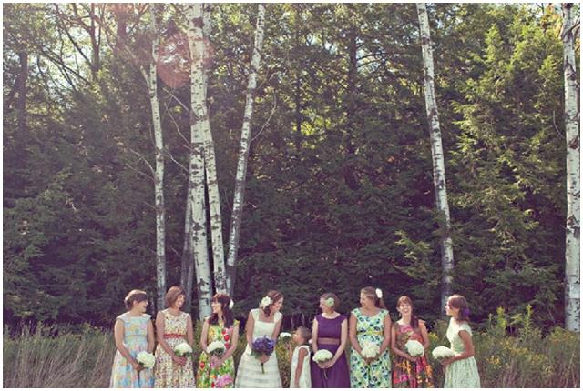 Cute and Cool, Alternative Bridesmaid Dresses: Sohomode