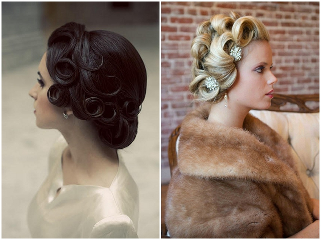 Vintage Bridal Hairstyles With A Modern Twist Want That Wedding