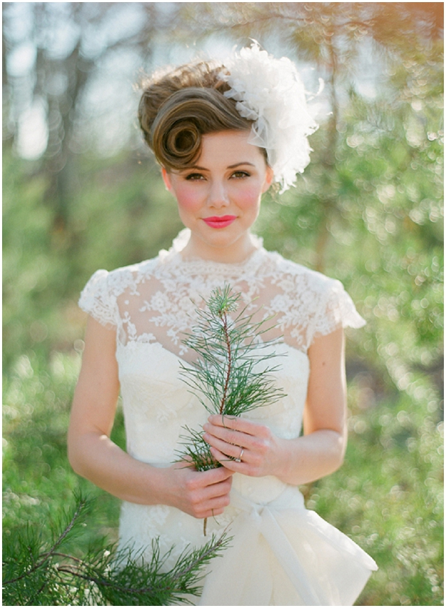 vintage bridal hairstyles with a modern twist want that