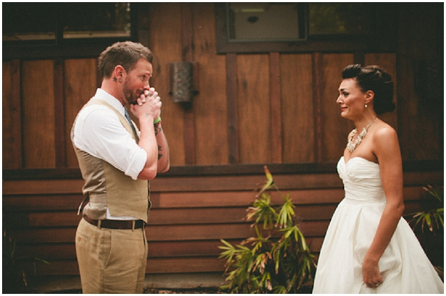 Best Groom Reactions To Seeing Their Beautiful Bride