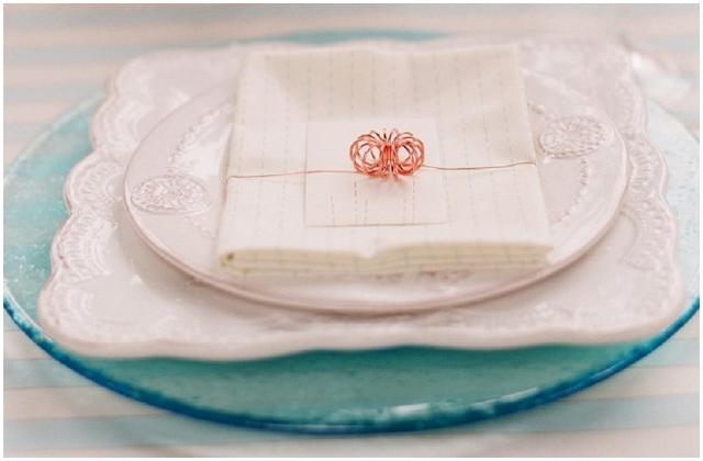 Aqua glass plate