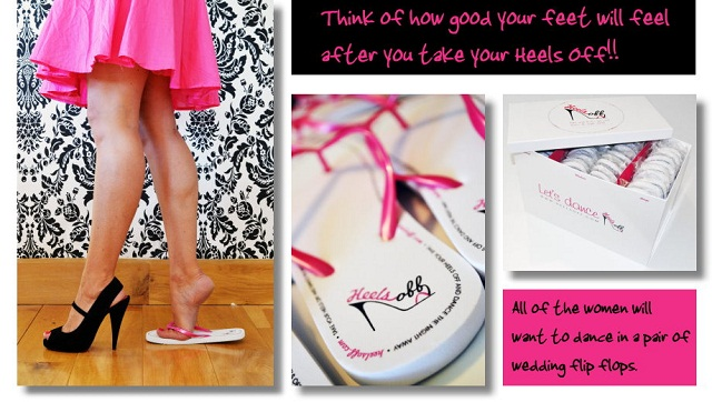 The Perfect Wedding Shoes? Wedding Flip Flops