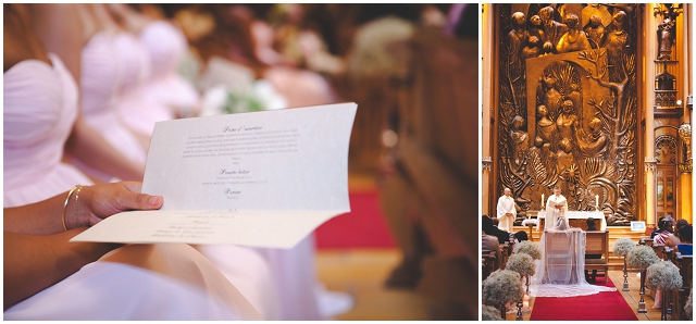 Timeless With Pale Pink Accents: Real Wedding