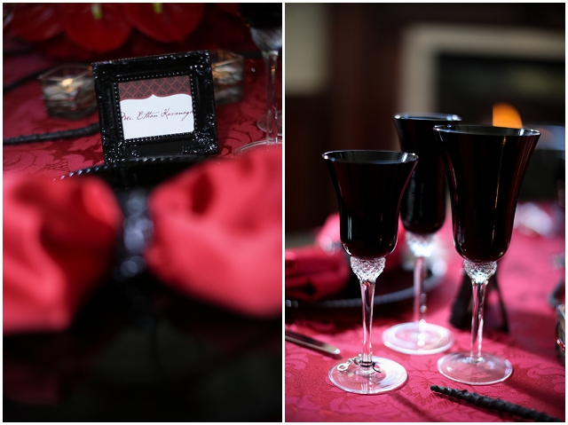 50 Shades Of Grey: Dark & Dangerous | Wedding Inspiration