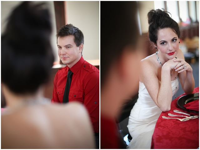 50 Shades Of Grey: Dark & Dangerous   Wedding Inspiration
