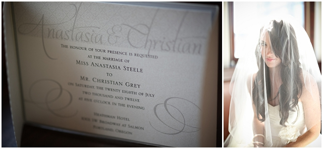 50 Shades Of Grey: Wedding Inspiration