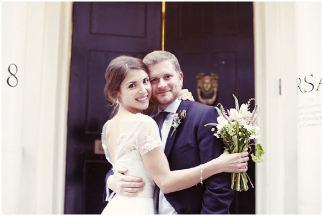 Lovely London: Real Wedding | Emily & George