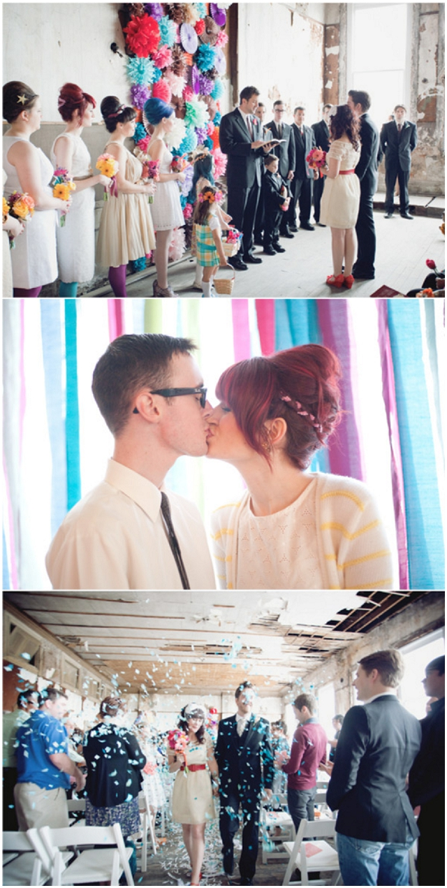 Colourful, Cute & Kooky Wedding