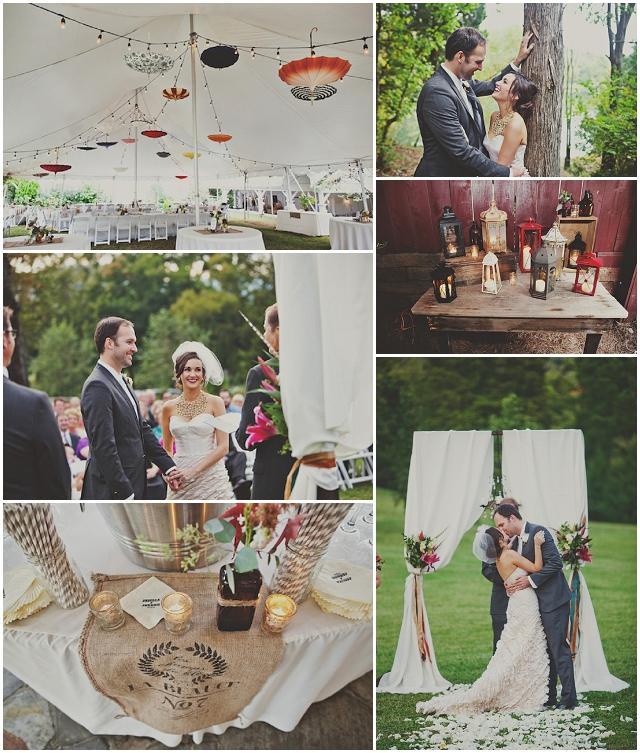 Vinateg Carnical Chic Wedding