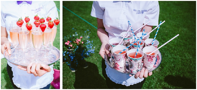 Village Fete: Pretty Jam Jars | Real Wedding