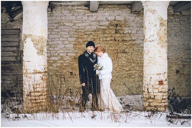 Ethereal Estonian | Mairi & Gert: Real Winter Wedding