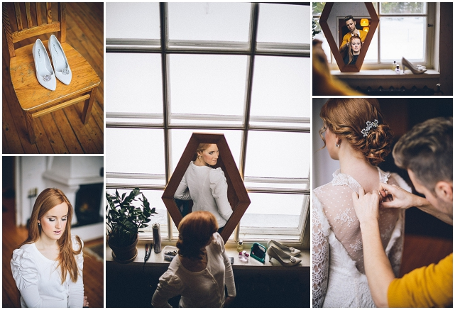 Ethereal Estonian | Mairi & Gert: Real Winter Wedding