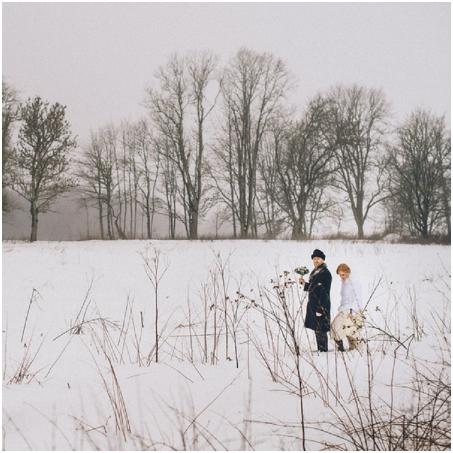 Ethereal Estonian | Mairl & Gert: Real Winter Wedding