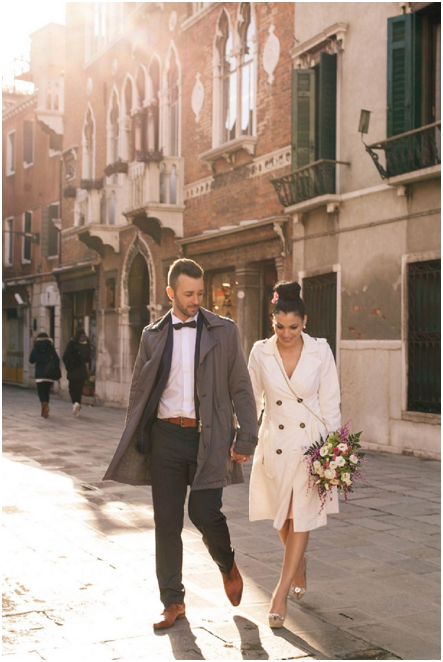 A Romantic Italian Elopement: Venice | Real Wedding