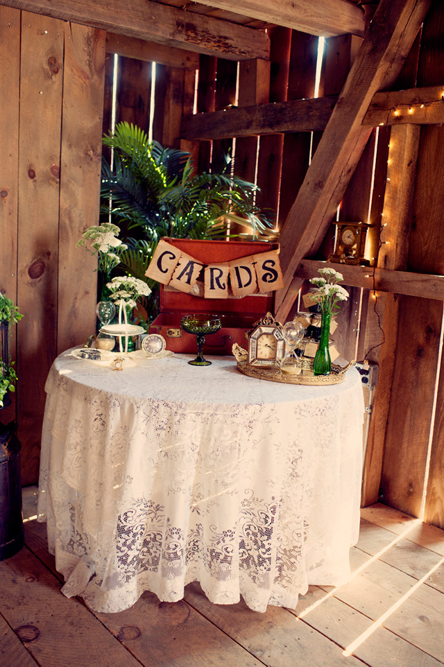 Homemade: Vintage Clock Inspired | Barn Wedding