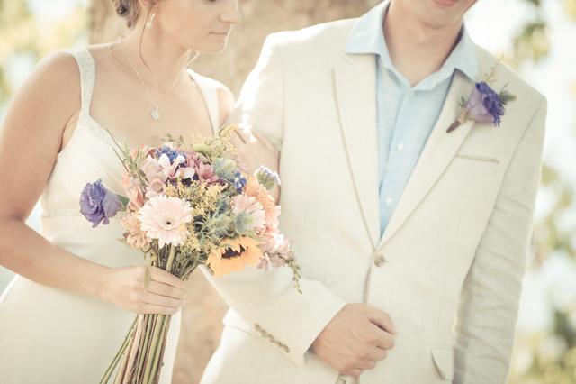 Vintage Farm: Colourful | Real Wedding