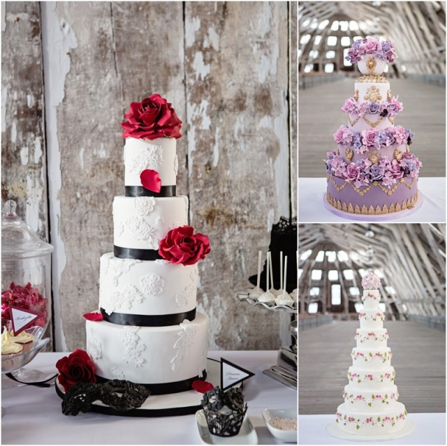 Elizabeth's Cake Emporium: The Majestic 2013 Collection | Wedding Cakes