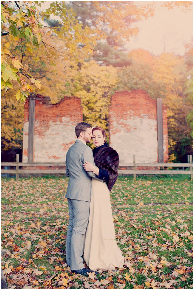 Vintage Touches: Cobalt Blue   Rustic Real Wedding
