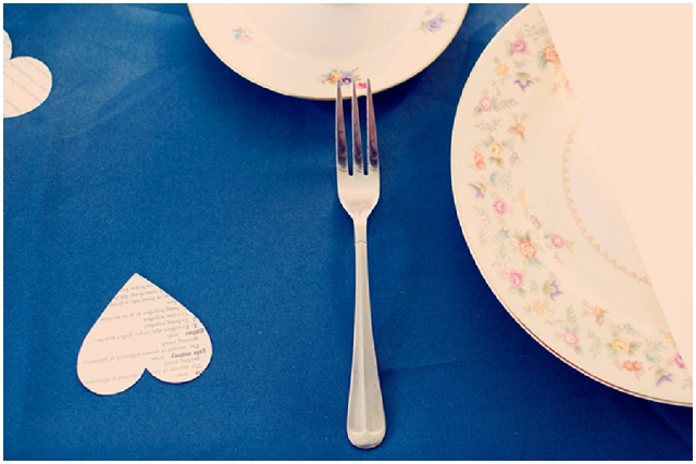 Vintage Touches: Cobalt Blue | Rustic Real Wedding