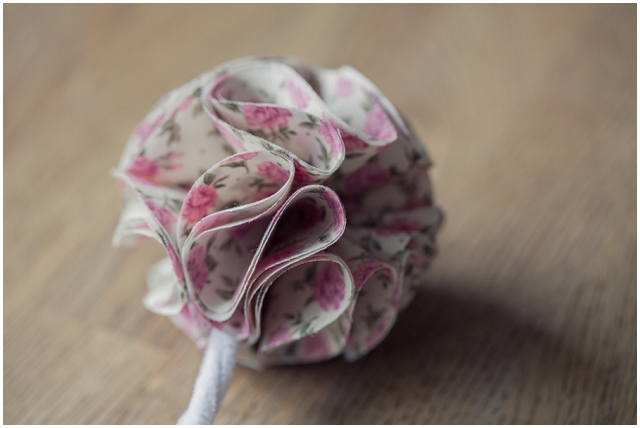 DIY Tutorial: How to make | Fabric Bridesmaid Posies