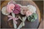 DIY Tutorial: How to make | A Fabric Posy