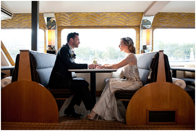 Modern Deco: River Boat | Styled Shoot
