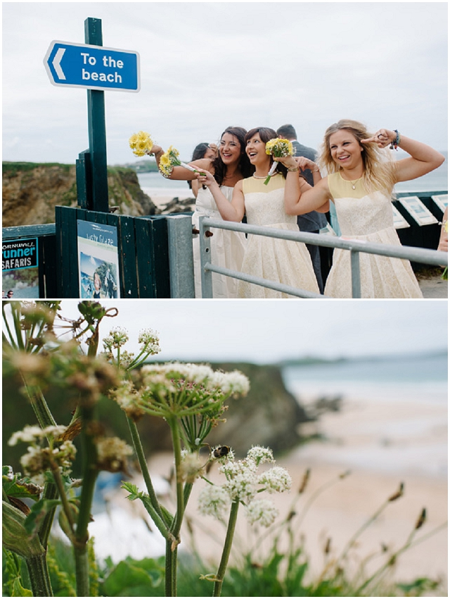 DIY Yellow: Cornish Seaside | Real Wedding