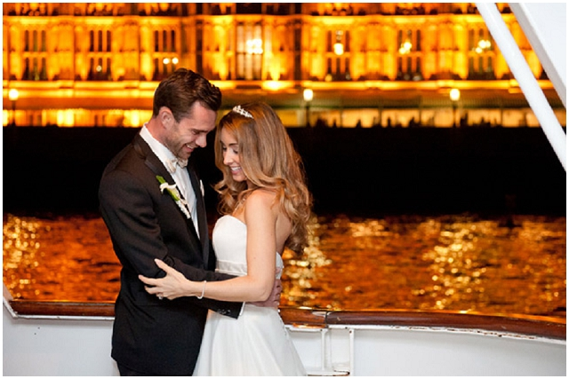 Modern Glam Deco: River Boat | Styled Bridal Shoot