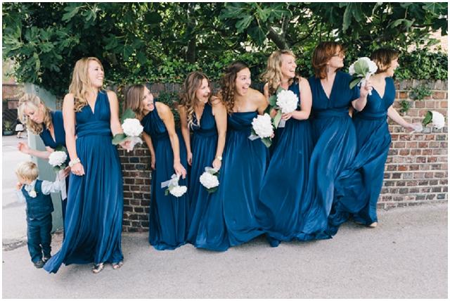 DIY Country Vintage : Pastel & Sapphire   Real Wedding