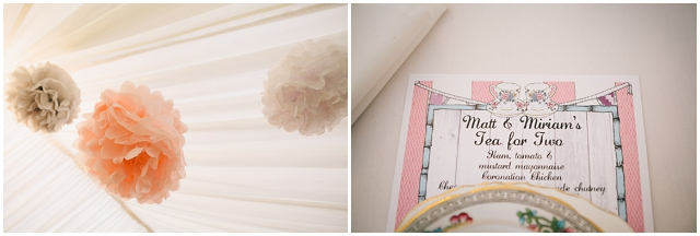 DIY Country Vintage : Pastel & Sapphire | Real Wedding
