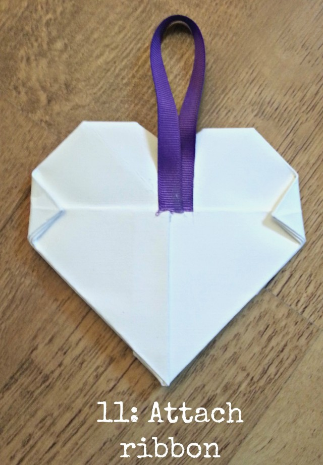 DIY Tutorial: How to make | Hanging Origami Hearts