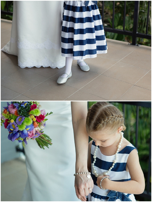 A Wedding With A View: Pretty Rainbow Bouquet   Real WeddingA Wedding With A View: Pretty Rainbow Bouquet   Real Wedding