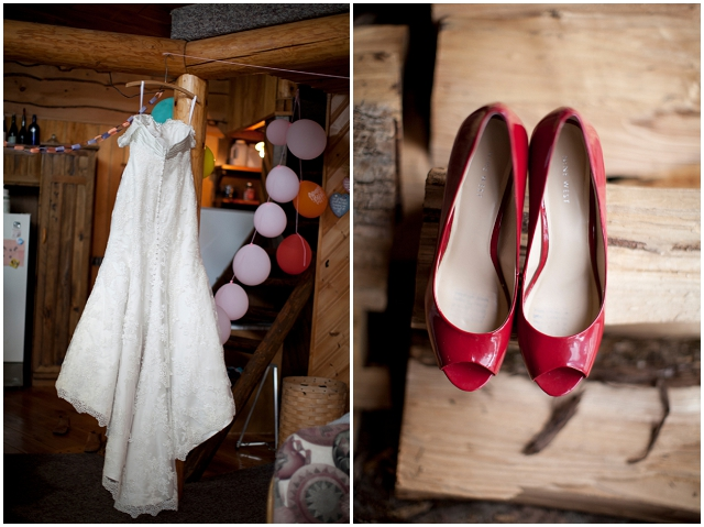 Creative Rustic Handmade: Red & Blue | Real Wedding