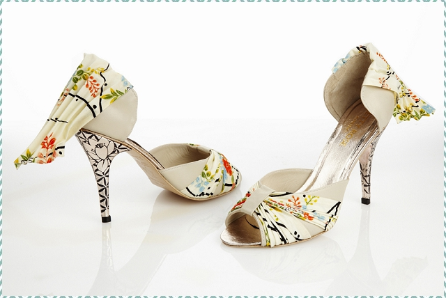 Quirky: Kimono Print | Unique Bridal Shoes