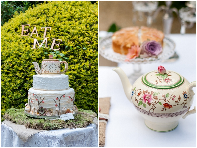 Alice In Wonderland: Eat Me | Unique Wedding Inspiration