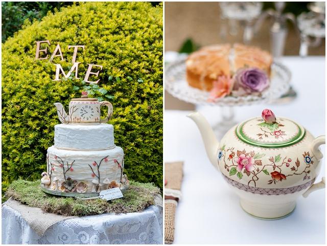 Alice In Wonderland: Eat Me | Unique Wedding Inspiration