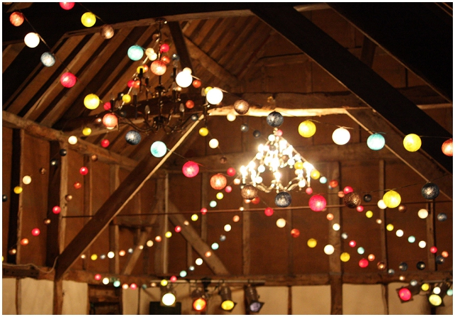 Wedding Reception Lighting: Cable & Cotton | Competition