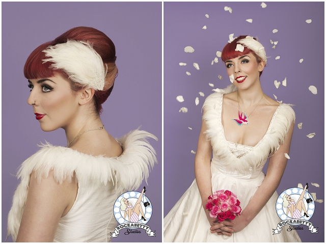 50s Pin-Up Bride: Oh My Honey | Bridal Fashion
