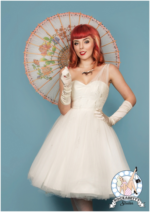 50s pin up bride oh my honey bridal fashion for Wedding dresses pin up style