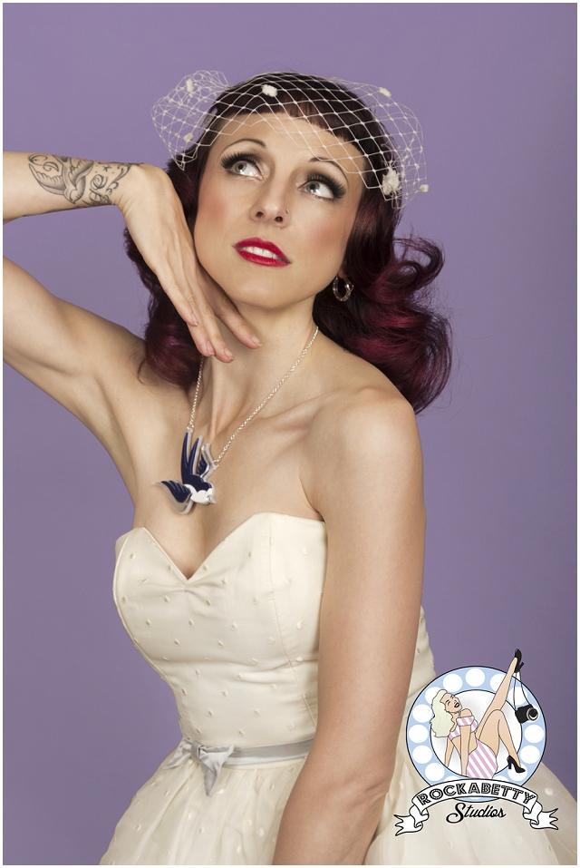 50s Pin-Up Bride: Oh My Honey   Bridal Fashion
